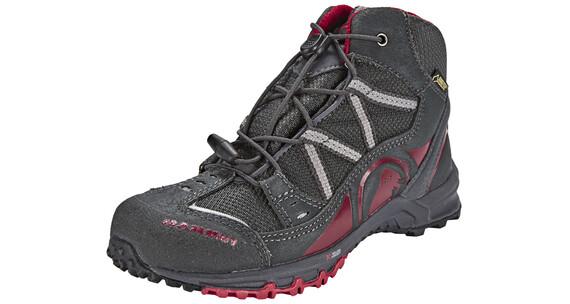 Mammut Nova Mid GTX Shoes Kids graphite/crimson